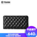 wallet Long Wallet Sheepskin Tough Jeansmith black Europe and America female zipper Solid color Horizontal style youth Color contrast cotton TW217-577