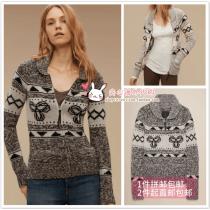 sweater Autumn 2016 XS S M L XL Marl Grey Mix/White H.Black/Light H.Grey Heather Buffalo/White wool 81% (inclusive) - 90% (inclusive) Sea-To-Sky