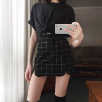 skirt Autumn 2016 S M L black Short skirt