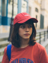 Hat cotton Beige wine red black Adjustable Baseball cap Spring summer autumn currency leisure time Young lovers dome Wide eaves 15-19 years old 20-24 years old 25-29 years old 30-34 years old 35-39 years old letter Hemming