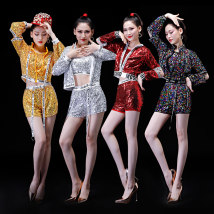 National costume / stage costume Summer of 2018 Silver (excluding headdress props) red (excluding headdress props) color (excluding headdress props) yellow (excluding headdress props) SM size customized (no return, no change) LXL WBL755 Dancing Bailey 25-35 years old Polyester 100%