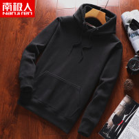 Sweater Youth fashion NGGGN 165/S 170/M 175/L 180/XL 185/XXL Socket Solid color ZWY12005 Cotton 70% polyester 30% Summer of 2019