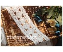 lace Белый черный