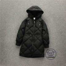 Cotton padded jacket Amy cordo black 140 (145cm height) 150 (150cm height) 160 (160cm height) 170 (170cm height) No detachable cap other female thickening Zipper shirt leisure time Class B Polyester 100% Cotton liner seven thousand one hundred and thirty-five