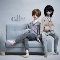 BJD doll zone suit 1/4 Over 14 years old Pre sale Grey (spot) Khaki (spot)