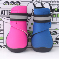 shoes Antiskid waterproof shoes Dog Blue Orange Rose fluorescent yellow One, two, three, four CS3TD03