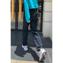 Jeans Autumn 2020 Dark blue, dark blue [velveteen] S,M,L trousers High waist Straight pants routine 18-24 years old washing Cotton denim Dark color