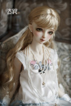 BJD doll zone Wigs other Over 8 years old Customized Milk gold card 6 points, 6-7 points, 4 points, 7-8 points, 3 points, 8-9 points