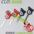 Motorcycle key Red (left slot) black (left slot) red (right slot) black (right slot)