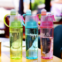 Handy cup Korean style 501ml (inclusive) - 600ml (inclusive) Plastic Pink 600ml blue 600ml green 600ml pink bright color 580ml sea blue bright color 580ml Covered with lifting rope others other 20-29.9 yuan like a breath of fresh air public motion outdoors no
