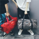 Travel bag PU nothing Anlan Gray concern store send dry and wet separation bag black concern store send dry and wet separation bag red concern store send dry and wet separation bag Xiaoda no travel Single root Japan and South Korea Bag type polyester fiber Soft handle Solid color youth Color contrast
