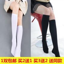 Socks / base socks / silk socks / leg socks female Other / other Medium socks (below knee) high socks (above knee) 1 pair routine Middle cylinder Four seasons Simplicity Solid color velvet Leg shaping
