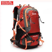 Backpack Royal mountain Red orange red light green purple blue black army green 35 liters eight thousand three hundred and thirty-two Six hundred and ninety-eight General camping / hiking yes nylon Summer 2015 yes Resin network China Outer shelf bag 53*41*15cm Outdoor travel bag
