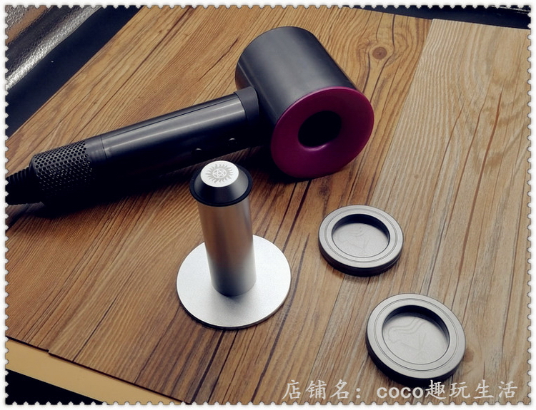 hair drier Dyson / Dyson Chinese Mainland Dyson cylindrical nozzle bracket, space grey nozzle bracket, China Red nozzle bracket, rose pink Dyson cylindrical space Silver Handle not foldable HD01 Professional air collecting nozzle and hood Dyson / Dyson hd01 teenagers