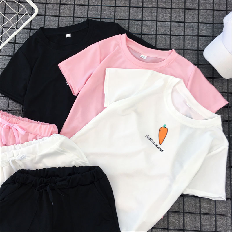 Casual suit Summer of 2018 Pink black white MLXLXXL 18-25 years old nine thousand and thirty Dream and reputation shirt 30% and below spandex New polyester fiber 95% polyurethane elastic fiber (spandex) 5% Pure e-commerce (online only)