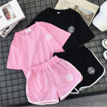 Casual suit Summer of 2018 Rose Red Black MLXLXXL 18-25 years old 010 Dream and reputation shirt 30% and below spandex New polyester fiber 95% polyurethane elastic fiber (spandex) 5% Pure e-commerce (online only)