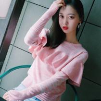 sweater XS S M L розовый персик Весна 2018 г. другое 30% и ниже