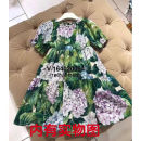 Dress Picture color Other / other female Cotton 100%