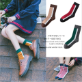 Socks / base socks / silk socks / leg socks female Other / other Average size Grey green dark blue black brown 1 pair stripe