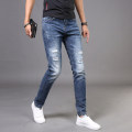 Jeans Youth fashion Fan Litai Thirty-four H 88381 Thin money Micro bomb Thin denim eighty-eight thousand three hundred and eighty-one Spring of 2018