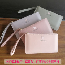 wallet Long Wallet PU Other / other brand new like a breath of fresh air female zipper Animal design 90% off Horizontal style Sewing synthetic leather