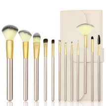 Make up brush Other / other Other materials 12 sets [free Beige brush bag] 12 sets [free black brush bag] Long rod China Normal specification Any skin type 6 years Others Others