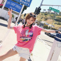 T-shirt Pink is pre sold for about 3 days S M L Summer of 2018 Short sleeve Crew neck easy Regular routine commute cotton 96% and above 25-29 years old Korean version originality Other / other LXC1805145686