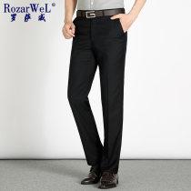 Western-style trousers Rozar well Business gentleman Rjk8802 black Thirty RJK8802 Polyester 78% viscose 22% Summer of 2018