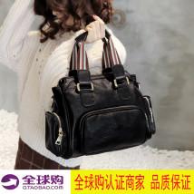Bag Наплечная сумка овчина Бостонская сумка другой / другие черный новый Наплечье досуг A kind of Единый корень нет молния мягкий молодежи Чистый цвет