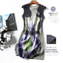 Dress Summer of 2018 Decor 8 10 12 14 Middle-skirt singleton  Sleeveless Socket LT02791/12/0.08