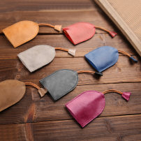 key case cowhide Vanford / zunlu Red purple gray brown apricot Blue Red Black brand new Exposure Solid color Japan and South Korea youth Sewing Erect funds V1906 female 90% off genuine leather top layer leather Spring / summer 2018