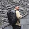 Backpack oxford KAIXUANGONGSI WANYUANDI Light gray 20 inch black 20 inch blue 17 inch camouflage 20 inch black 17 inch light gray 17 inch blue 20 inch camouflage 17 inch brand new large zipper leisure time Double root European and American fashion soft youth no Hard handle Solid color Yes male Sewing