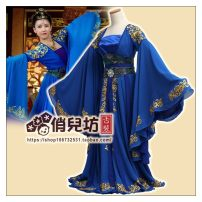 Children's performance clothes blue Female No spot, custom-made to provide the relevant dimensions Qiao Er Fang Blue Ji other