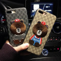 Mobile phone cover / case Benai Cartoon Apple / apple Fully wrapped soft shell Protective shell imitation leather