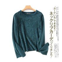 Sweater / sweater Autumn of 2018 Green as shown in the picture XS S M L XL Long sleeves Socket singleton  Crew neck
