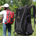 Backpack polyester fiber Other / other Black + red red green blue black orange rose red brand new large zipper travel Double root motion soft no Yes