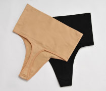 underpants female Black complexion S M L XL Other / other 1 nylon T / T High waist One piece
