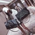 Travel bag Хаманака Оксфордская прядильная иметь черный Маленький большой Тип мешка Здесь спортивный Единый корень Модная тенденция хлопок Мягкая ручка Чистый цвет молодежи Хит цвет Сумка для мобильного телефона на молнии женщина