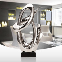 Ornaments ceramics abstract Simple and modern Desktop Decoration living room Just thinking S - 7019 S - 7019