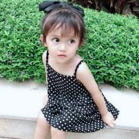 Dress Bella female Size 66 size 73 size 80 (Zoe fit) Size 90 Size 100 Other 100% summer princess Skirt / vest Dot other fzqz5684 other