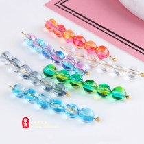 Other DIY accessories Loose beads Artificial crystal 0.01-0.99 yuan 1 ᦇ color plated red yellow 6mm / piece 2 ᦇ crystal white 6mm / piece 3 ᦇ color plated blue purple 6mm / piece 4 ᦇ color plated green 6mm / piece 5 ᦇ crystal gray 6mm / piece 6 ᦇ crystal blue 6mm / piece brand new