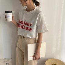 T-shirt white Average size Summer of 2018 Short sleeve Crew neck Straight cylinder Regular routine commute other 86% (inclusive) -95% (inclusive) Korean version youth Other / other