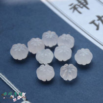 Other DIY accessories Loose beads Natural crystal / semi precious stone RMB 1.00-9.99 12mm powder crystal pumpkin bead brand new Fresh out of the oven