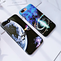 Mobile phone cover / case Charming plan Japan and South Korea Apple / apple Mobile phone shell Protective shell silica gel