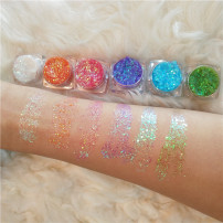 Eye shadow China OTHERS Eye decoration Normal specification no Orange white red green sky blue purple Any skin type 24 months