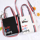 Bag The single shoulder bag canvas Tote Bag Happy and colorful brand new like a breath of fresh air Small other soft zipper yes Solid color Double root