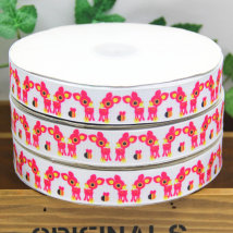 Ribbon / ribbon / cloth ribbon 5 size 20 size 50y 100y picture color (high quality) 1 size (0.914m) Xinxing textile belt CW639