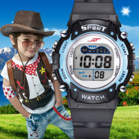 Wristwatch Plastic mirror other stainless steel 37mm Shop warranty Prema/polly m child Electronic movement domestic 3ATM 11mm movement Circular Digital