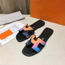 Sandals Color 1 color 2 color 3 color 4 color 5 Color 6 color 7 color 8 Lixintta / Lixin she he top layer leather Barefoot Thick heel Summer of 2018