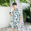 shirt Youth fashion Others XXL M L XL Pink white yellow Thin money Short sleeve Pointed collar (regular) easy Travel? summer